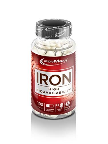 Ironmaxx Eisen 100 Kapseln, 46,3 g
