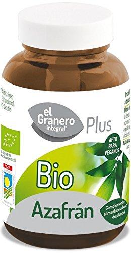 Azafrán Bio El Granero Integral 30 Cápsulas 500mg