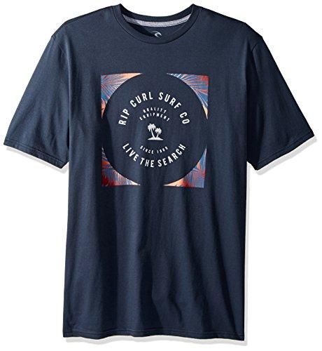 Rip Curl Herren Mason Aloha Classic Tee T-Shirt, Navy, XX-Large (Navy Shirt Aloha)