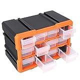 Werkzeugschränke mit 12 Schubladen, Schubladen, Werkzeugschränke für Spielzeug, Basteln, Nähen und DIY-Teile.
