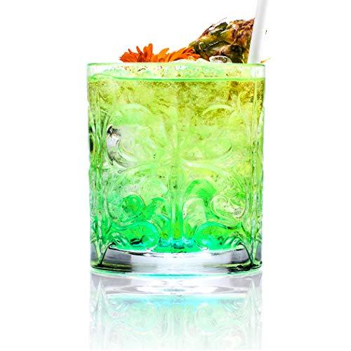 Rcr Confezione 6 Bicchieri Vetro Tatoo 337 Cl Made Italy Trasparente