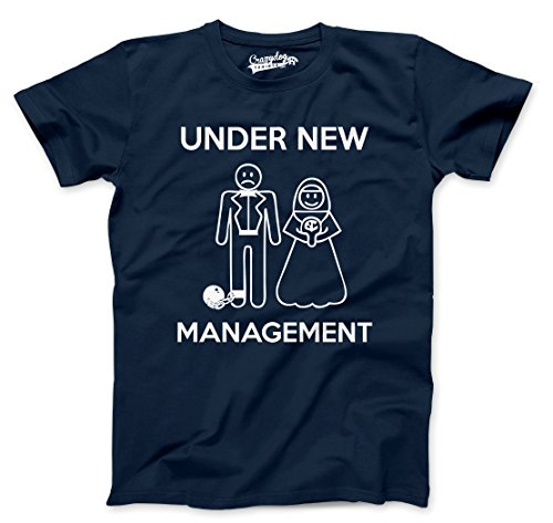 under-new-management-t-shirt-funny-married-couple-marriage-tee-l