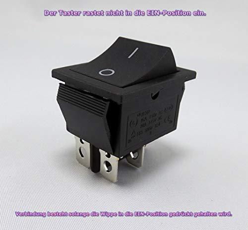 Wipptaster TASTER 4-Pin OFF/ON einbau ca. 28,5x21,15 mm Perfekt als Ersatz für Rasenmäher (1) (Rasenmäher-pin)