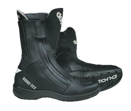 Daytona ROAD STAR GTX Herren Motorradstiefel Leder - schwarz Größe 46