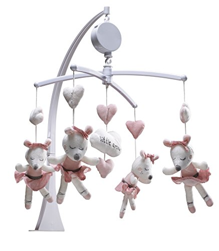 SAUTHON BABY DECO - Mobile bébé musical lilibelle