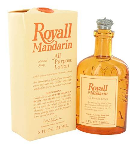 Royall Mandarin Of Bermuda All Purpose Lotion Spray / Splash 8.0 Oz / 240 Ml von Royall Fragrances für Männer -