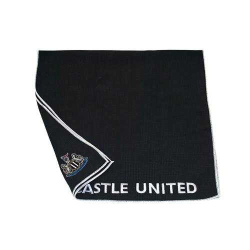 Newcastle United F.C. aqualock caddy Handtuch- aqualock caddy Handtuch- Microfaser Handtuch- Gesticktes crest- ca. 103 x 56 cm-header card- Offizielles Fußball-Merchandising-Produkt