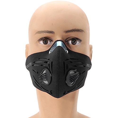 TENGGO Carbón Activado Filtro De Aire Máscara A