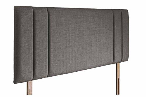 Swanglen Sphinx Gem Stoff Kopfteil mit Streben aus Holz-Slate-Doppelbett -