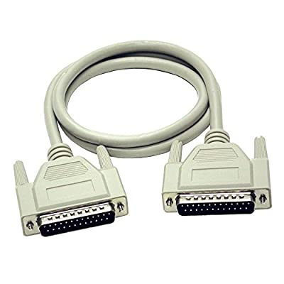 C2G 1m DB25 RS232 M/F Extension Cable