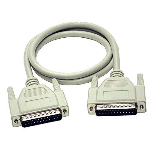 Cables to Go 81403 Verlängerungskabel (DB25, Stecker auf Buchse, 20m)