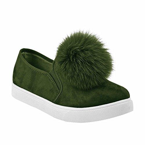 Mayline , Mocassins pour femme green