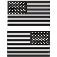 tamizada Americano EE. UU. bandera espejo Vinilo Adhesivo
