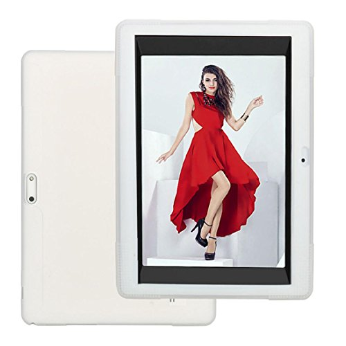 yuyoug Universal Silikon Hülle Weich Silikon Stoßfest Schutz Stabile Cover für 1025,7cm Android Tablet PC