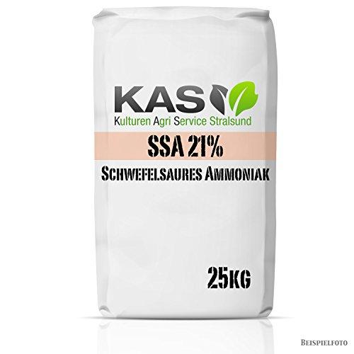 KAS Schwefelsaures Ammoniak Ssa 21% 25 kg Stickstoffdünger mit Säuernder Wirkung