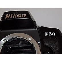 Camera en negro–Nikon F 60F60–Cámara réflex analógica–Sólo la Body/la caja # # SLR Camera # # técnica–by Photo Flash # #