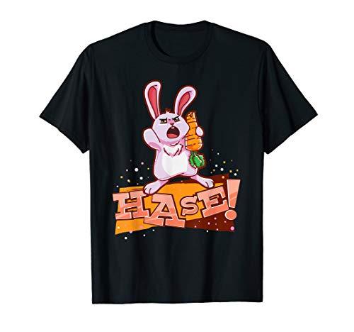 Hase Kaninchen Rabbit Süß Schimpfen Spaß Kosename T Shirt