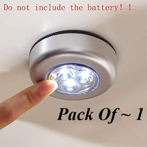 Style Eva 4 LED Light Battery Powered Stick Tap Emergency Touch Light for Wall Closet