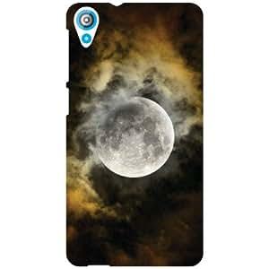 HTC Desire 820 Back Cover - Loving Moon Designer Cases
