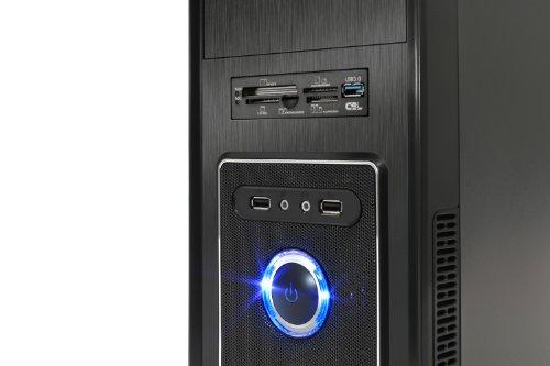 Bild 8: CSL Sprint 5766Pro inkl. Windows 7 Pro - AMD A8-6600K APU 4X 3900MHz, 8GB RAM, 1000GB SSHD, Radeon HD 8570D, DVD, USB 3.1