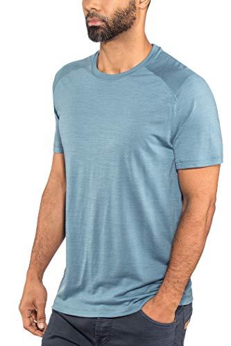 9ff22d1f651c7 Icebreaker Sphere - T-Shirt Manches Courtes Homme - Bleu 2018 Tshirt Manches  Courtes