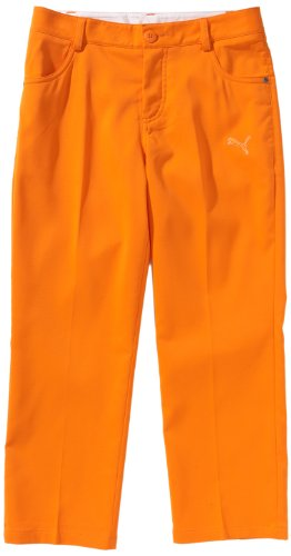 Junior Golf Hose (PUMA Golf Jungen Hose 5 Pocket Pant Junior, vibrant orange, 152, 563123)