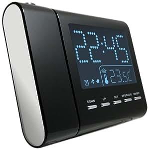 Reflexion CLR2645P Radio réveil avec projecteur (Import Allemagne)
