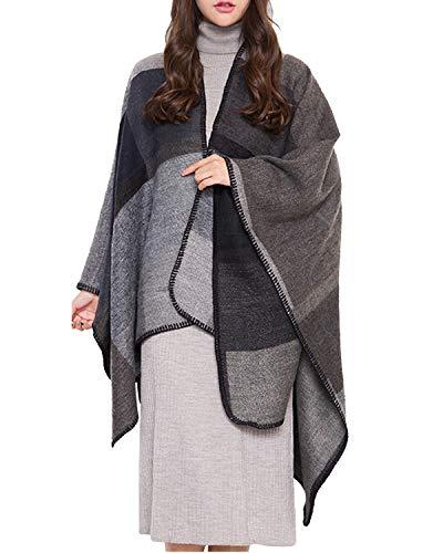 Shiduoli Chaleco Mujer Abrigo Abierto Frente sin Mangas