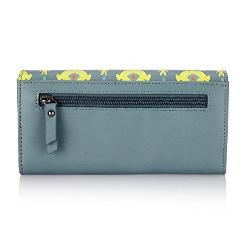 Caprese Ikat Women's Wallet (Blue)