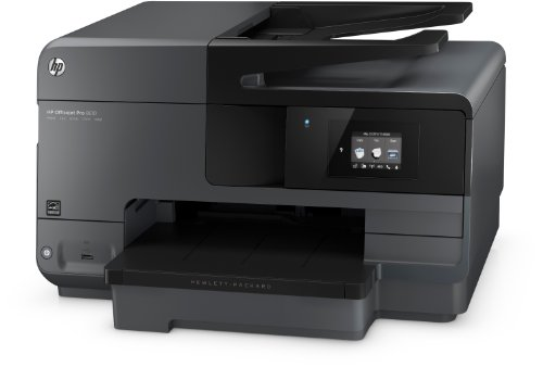 Bild 3: HP Officejet Pro 8610 All-in-One Multifunktionsdrucker (Drucker, Kopierer, Scanner, Fax, Wlan, Duplex, USB, 4800 x 1200 dpi) schwarz
