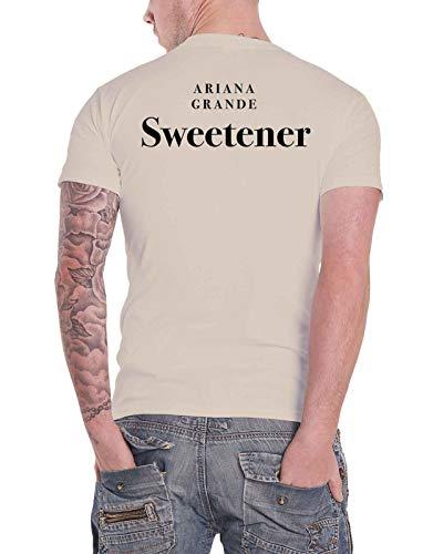 Ariana Grande T Shirt Sweetener Portrait Logo Nouveau Officiel Unisex Sand