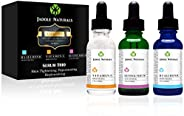 Anti Aging Set with Vitamin C Retinol and Hyaluronic Acid Serum for Anti Wrinkle and Dark Circle Remover All N