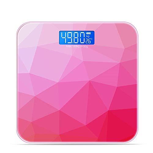 XiaoZou Elektronische Waage Körperfettwaage USB Wiederaufladbare Smart Digital Personenwaage Personenwaage Gewichtsverlust Home Precision Body