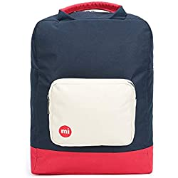 Mi-Pac Mochila de a Diario, Blue Black/Red 743007-S06