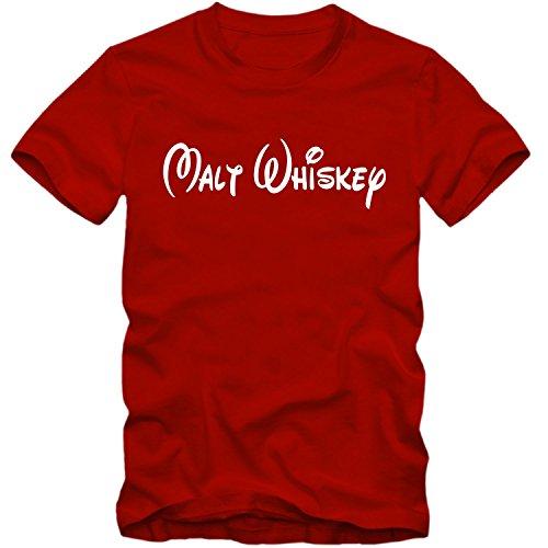 T-Shirt Malt Whiskey Whisky Walt Fun Shirt Tee Disney inspired S-4XL NEU, Farbe:schwarz;Größe:L - 6