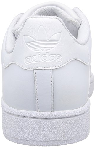 adidas Originals Superstar II, Baskets mode homme Blanc (Blanc/Blanc/Blanc)