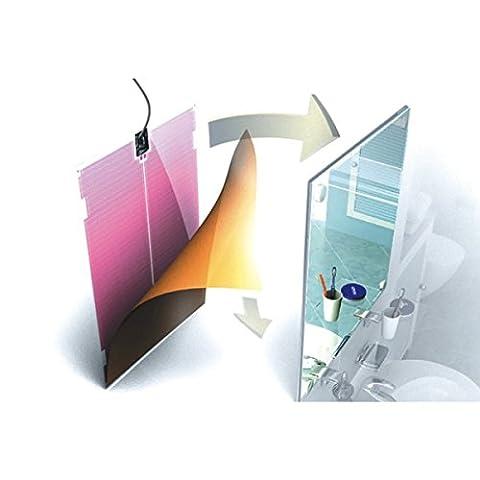 Film Chauffant Electrique - Film chauffant antibuée pour miroir WARM-ON 400