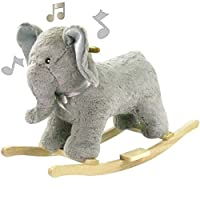 babieswithlove Cuddles Collection Toddlers Infants Rocking Horse - Suitable12mths+ - Ellie Elephant