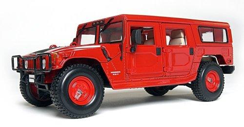 maisto-36858r-vehicule-miniature-hummer-h1-station-wagon-echelle-118