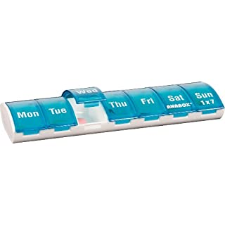 Anabox 7 Day Pillbox Turquoise