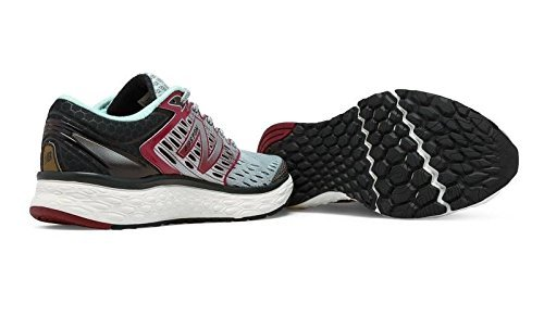 Scarpe Da running Marathon Boston New Balance M1080 Grey-Bordeaux (Grey-Burdeos)
