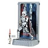 Star Wars Hasbro – C2575 The Black Series – Titanium Series – Captain Phasma – 13cm Action Figur, sehr detailliert + Zubehör und Display
