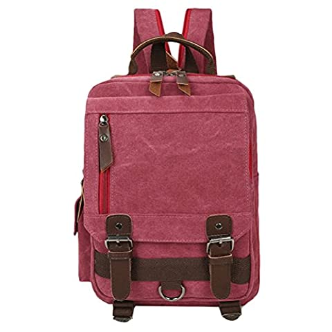 Zhhlaixing Sacs à la mode Classic Special Canvas Shoulder Package Bags Korean Style Travel Backpack Tide Leisure for Women