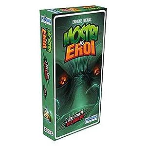 Asmodee Italia - Mostros VS Eroi expansión Cuentos de Cthulhu Juego de Cartas en Italiano Pendragon Games Studio, Color, 0511