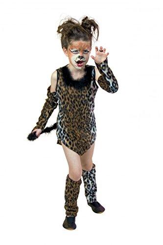 Wildkatze Verkleidung Halloween Fasching Kostüm Karneval (152)