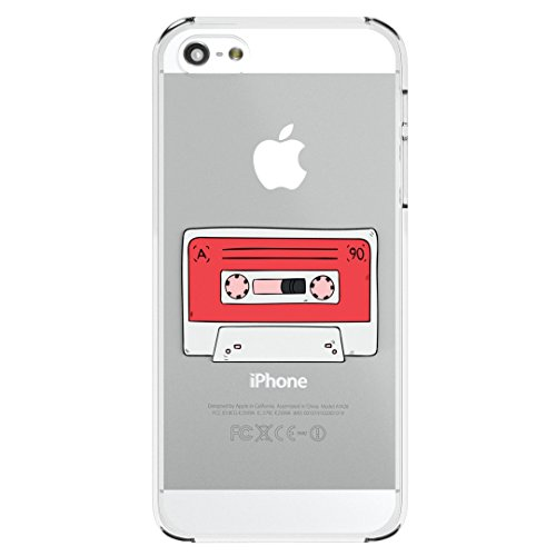 90s Mixtape Old School Vintage Cassette Tape Design High Quality Hard Snap-On Protective iPhone 5 / 5S / SE / 6 / 6S / 6 Plus + / 6S Plus + / 7 / 7 Plus + Case Cover