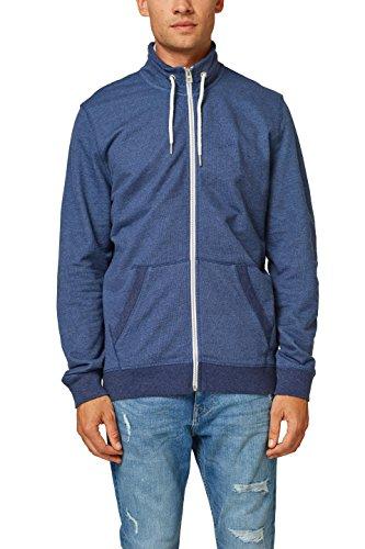 edc by ESPRIT Herren 078CC2J005 Sweatshirt, Blau (Navy 400), Large