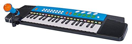 Simba 106835071 My Music World-Keyboard mit Mikrofon
