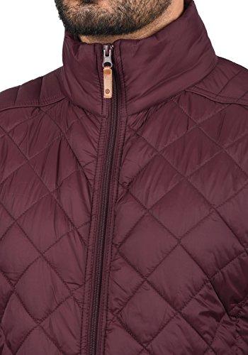 Blend Stanley Herren Steppjacke Übergangsjacke Jacke Mit Stehkragen, Größe:S, Farbe:Zinfandel (73006) - 4