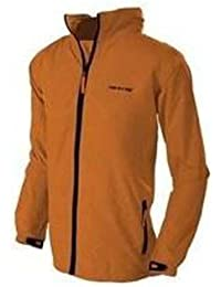 Kids Boys Girls Mac in a Sac Classic Waterproof Jacket - Amber - 32-34in chest